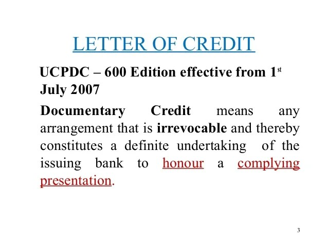 Letter Of Credit Wikipedia Letter Of Credit
