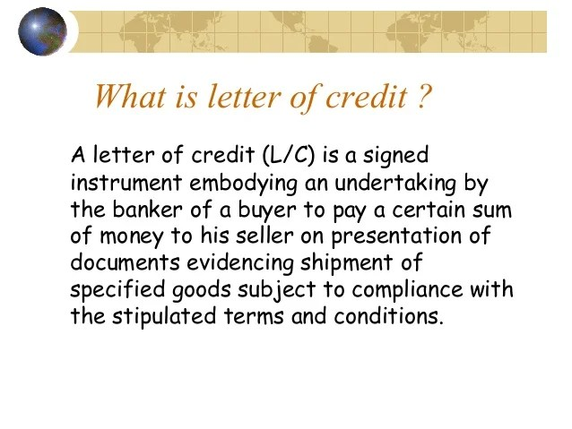 Learn About An Irrevocable Letter Of Credit The Balance Letter Of Credit
