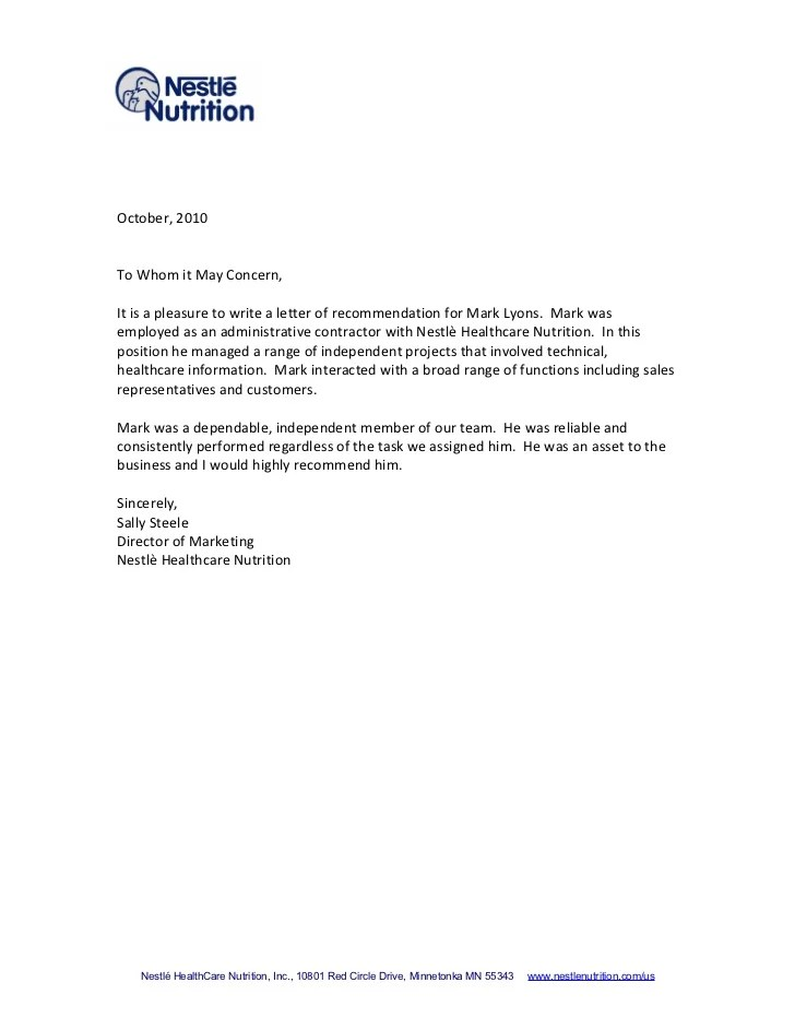 how to letter of recommendation - Leonescapers
