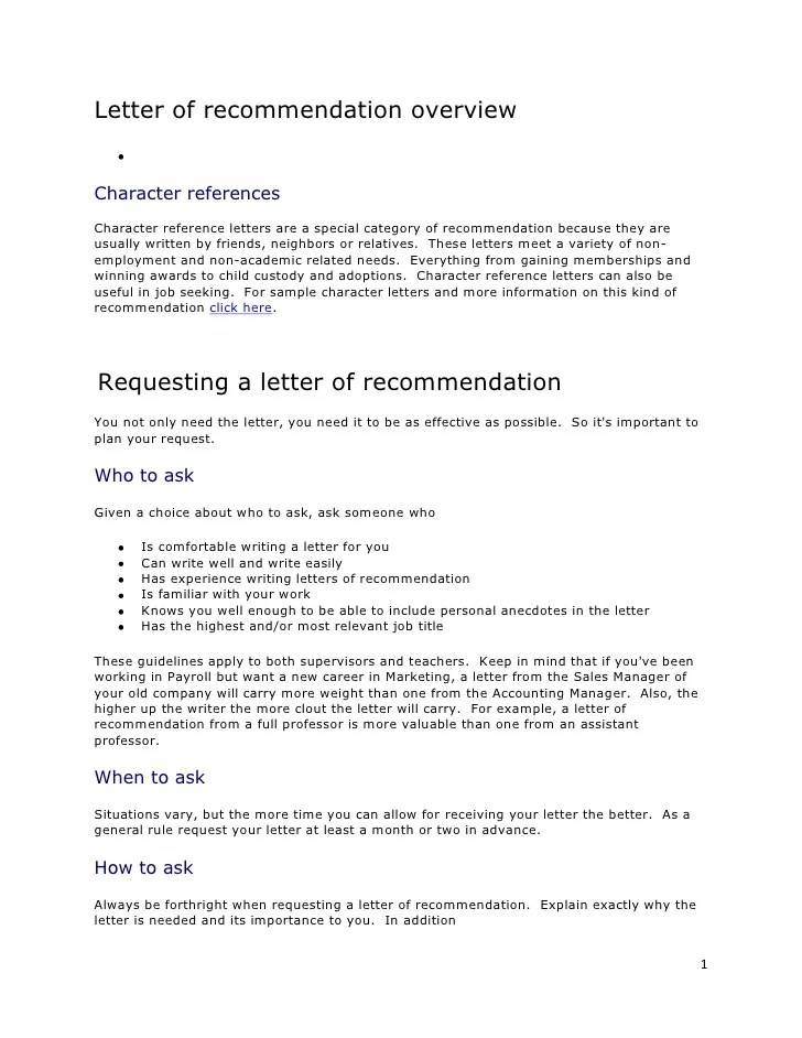 general letter of reference format - Selol-ink - general letter of reference