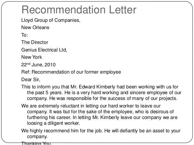neutral letter of recommendation - Romeolandinez - professional letters of recommendation