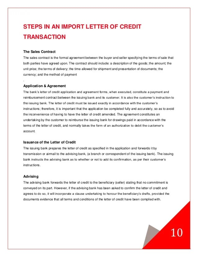 Letter Of Credit Advised Vs Confirmed Letters Of Credit