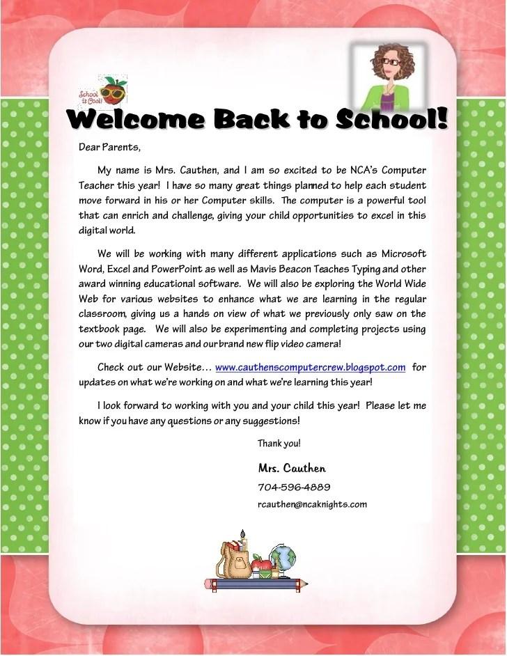 teacher parent letters - Josemulinohouse - Teacher Letters To Parents