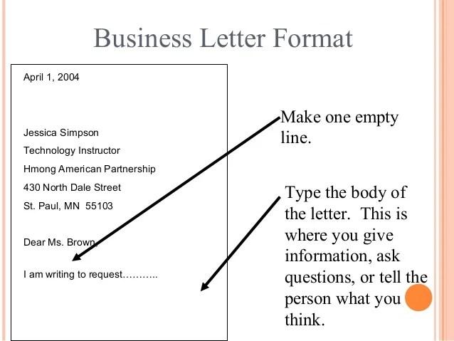 Business Letter Samples Englet Letter Writing Communication Skills