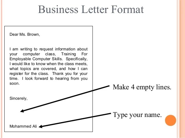 format to write a letter - Boatjeremyeaton