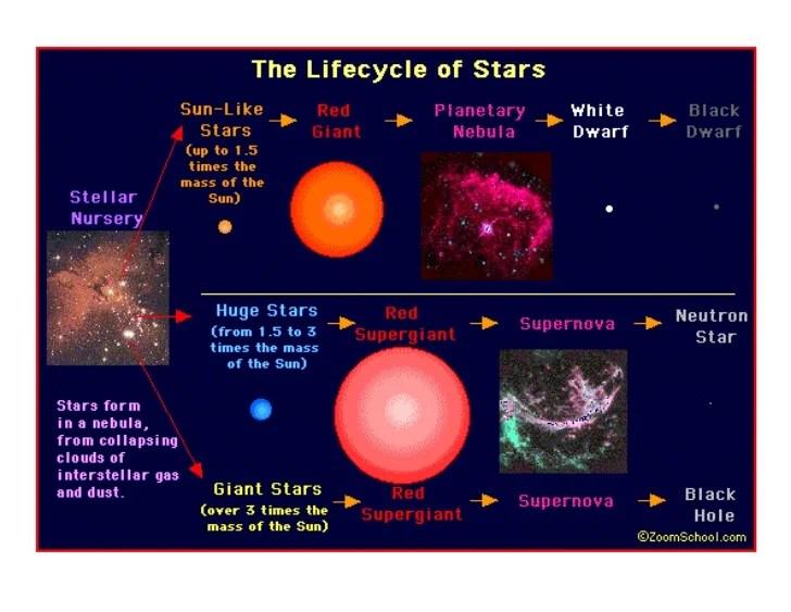 star life cycle diagram
