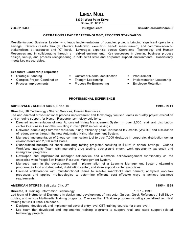 clothing retail resume