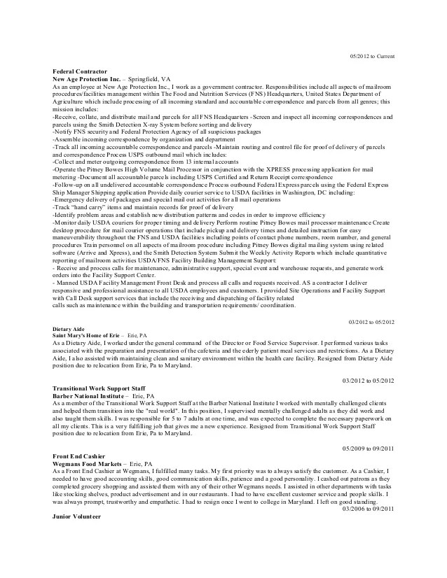 executive resume examples 2014