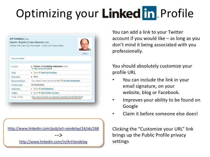 Build Resume From Linkedin 5 tips to make your linkedin profile