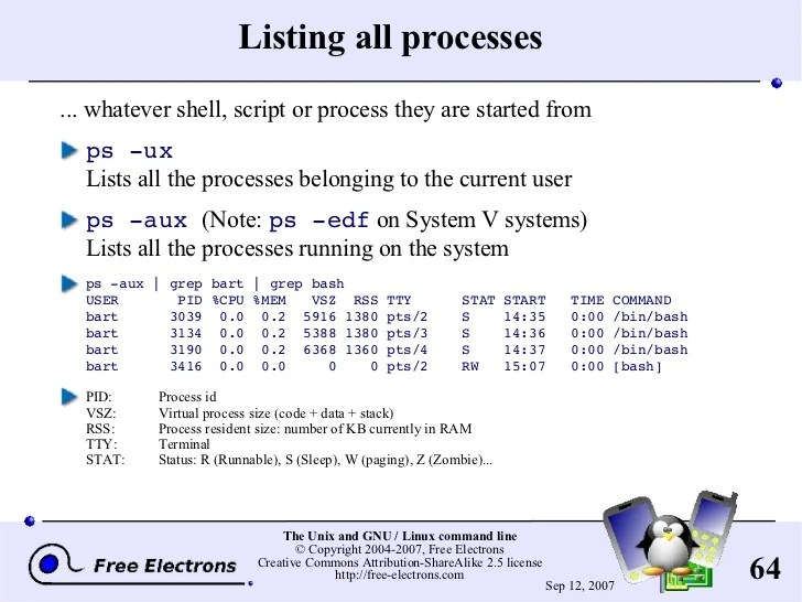 resume a background process linux