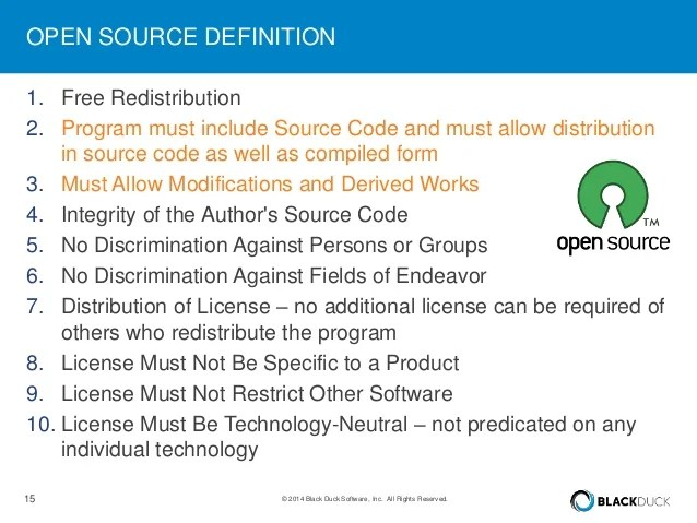LinuxCon Europe 2014: License Compliance and Open Source Software Log…
