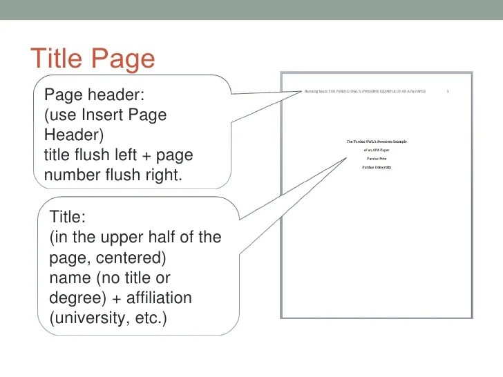 apa format with no title page - Towerssconstruction