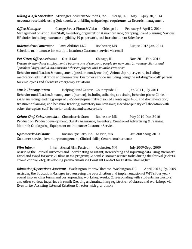 resume examples for jobs with experience - Minimfagency