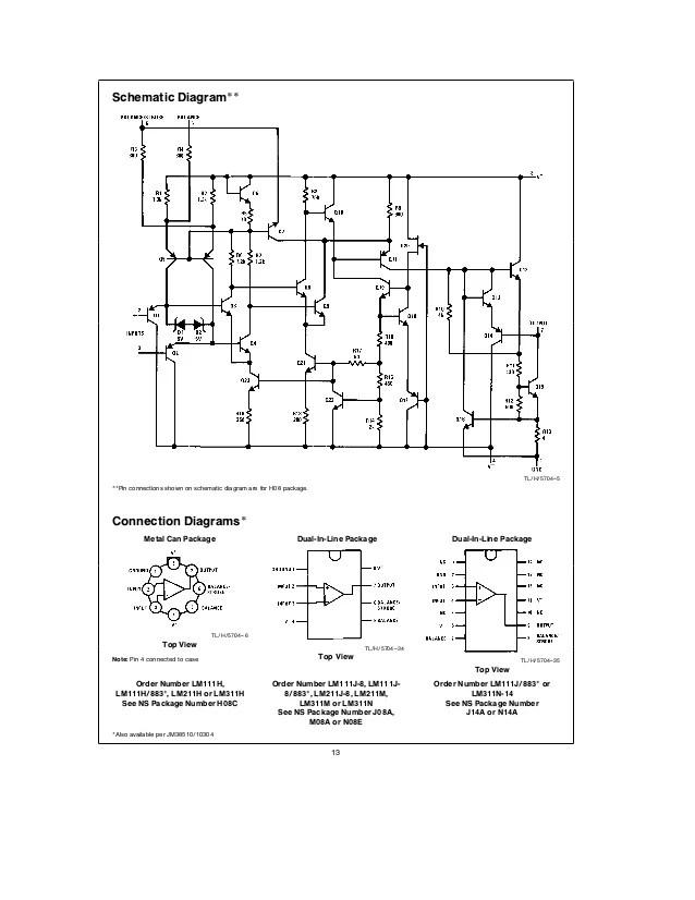 precision photodiode comparator