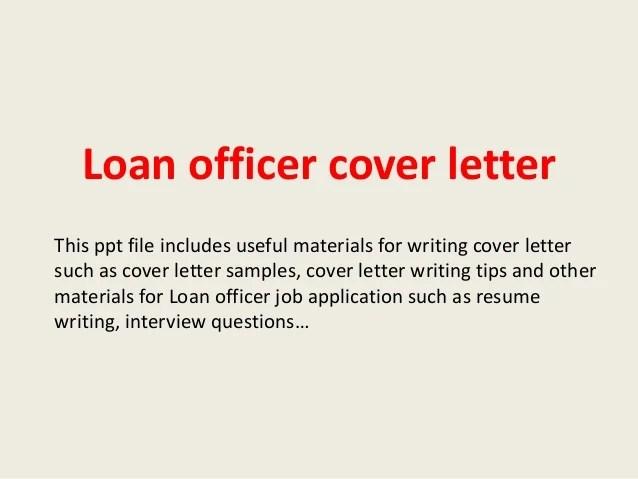 Loan Assistant Cover Letter - sarahepps -