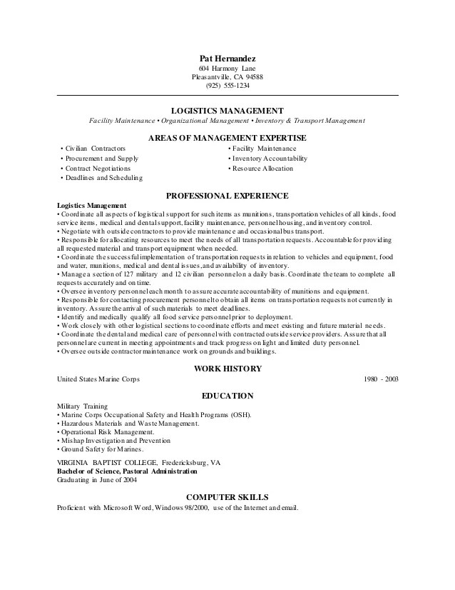 cv for logistics manager - Pinarkubkireklamowe
