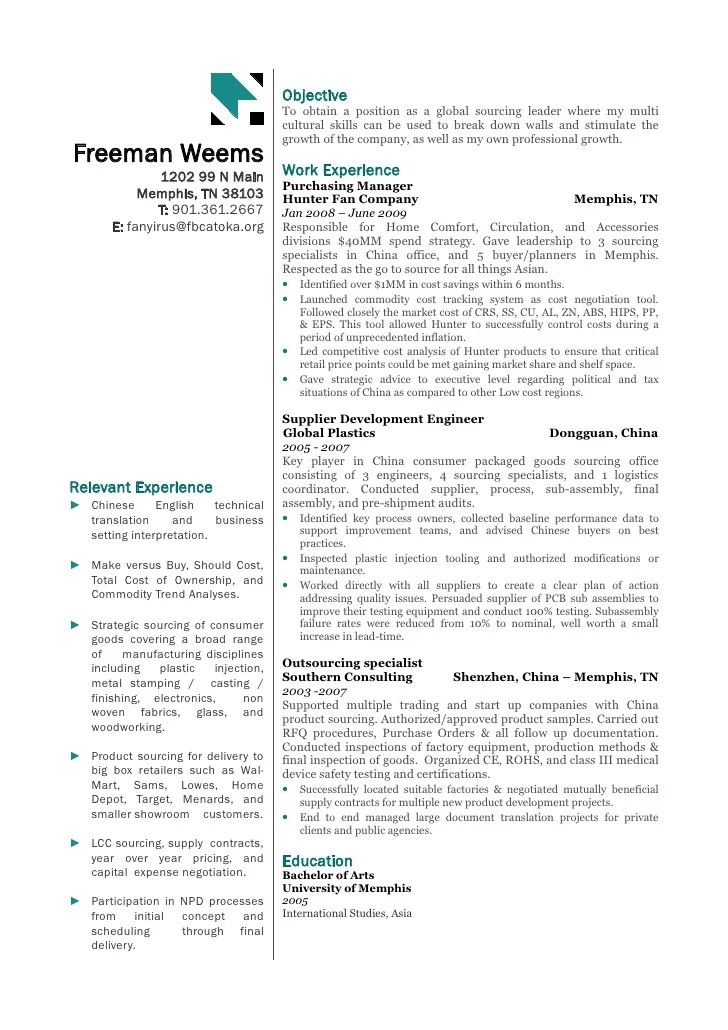 resume sourcing - Onwebioinnovate - sourcinge analyst sample resume