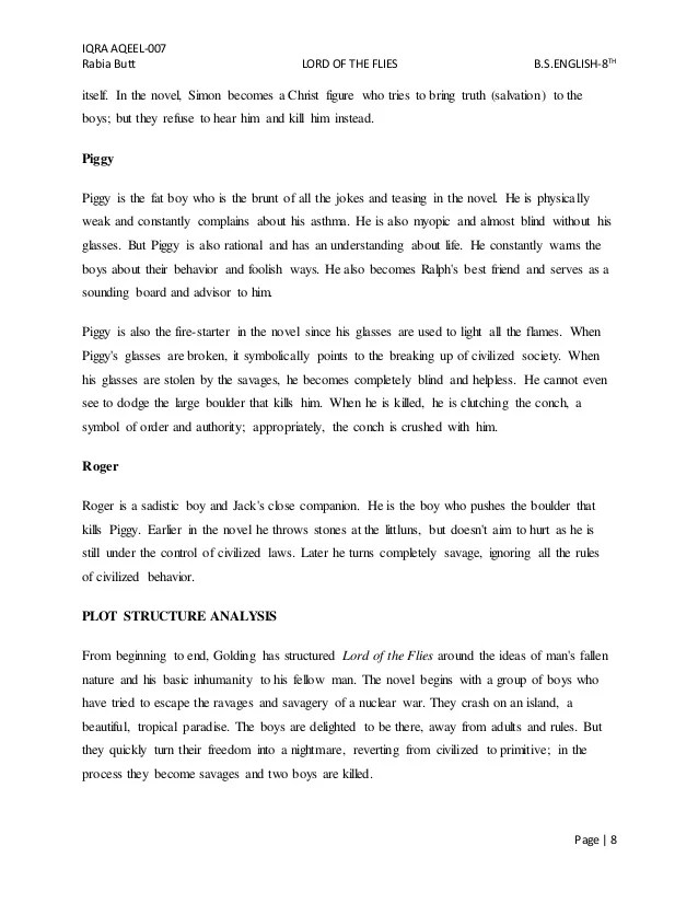 Process Paper Essay The Lord Of The Flies Essay  Yelomdigitalsite  The Lord Of The Flies Essay Essay With Thesis also Good Thesis Statement Examples For Essays Lord Of The Flies Essay On Piggy Symbols Symbolism In Literary  Into The Wild Essay Thesis