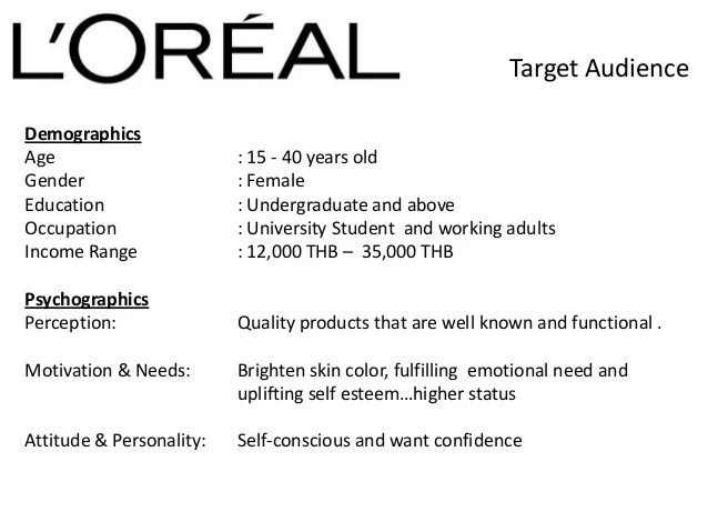 Special Event Management And Event Marketing A Case Study Loreal Case Study In Thailand