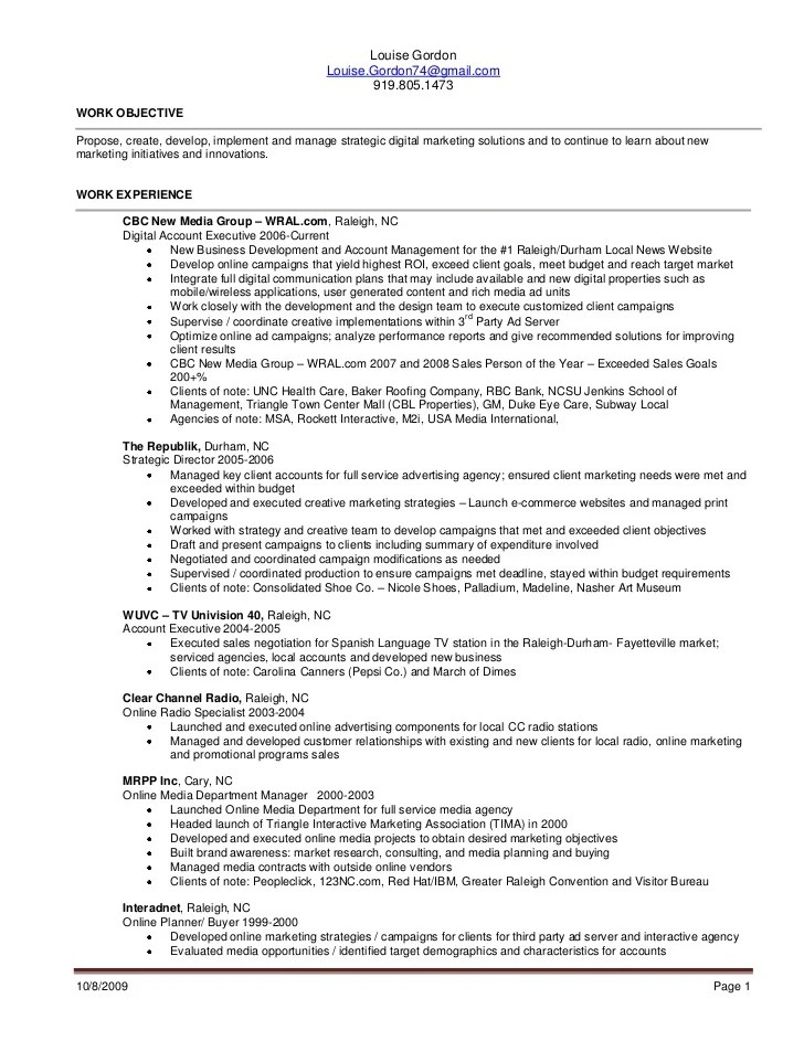 media buyer resume - Pinarkubkireklamowe