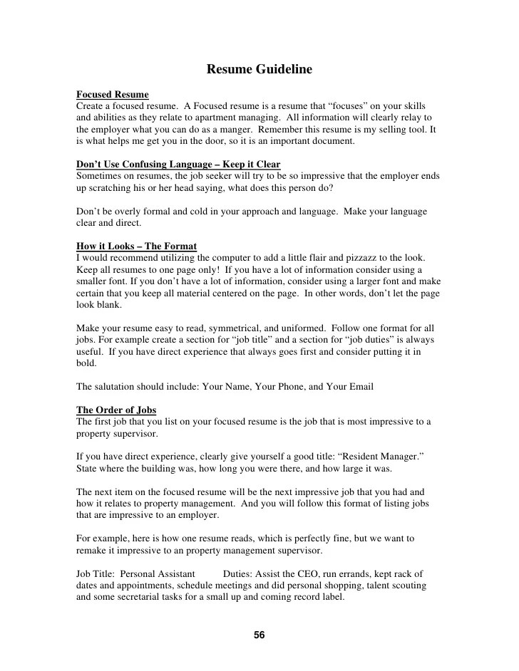 most impressive resume - Alannoscrapleftbehind