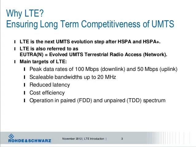 LTE: Introduction, evolution and testing
