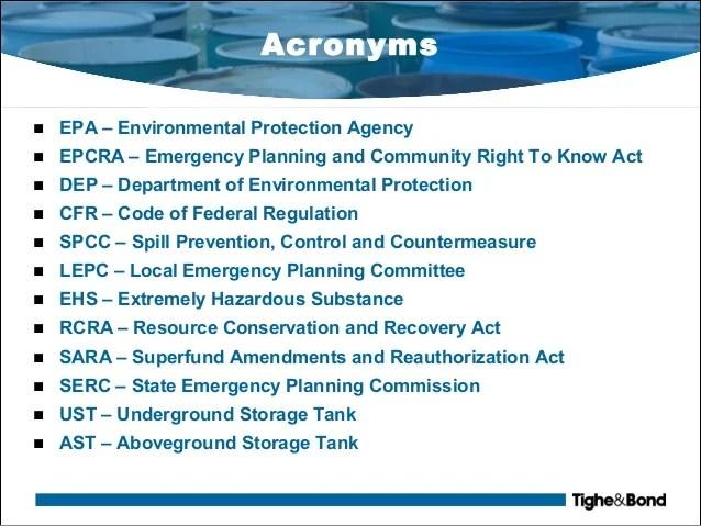 aboveground storage tank regulations