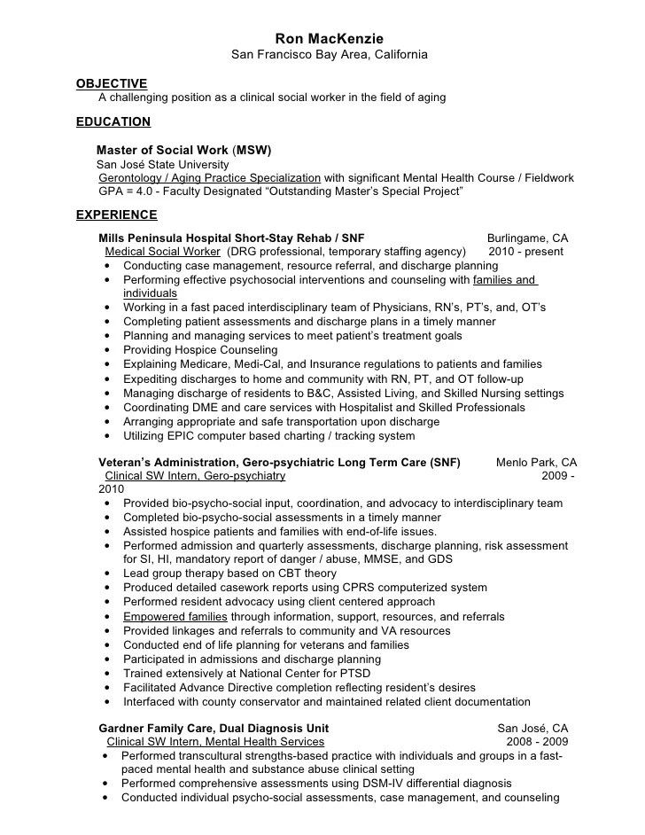 15 Resident Advisor Cover Letter Assessments Mary M Mac Kenzie Resume Gero Social Worker V27