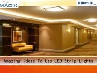 Amazing Ideas to Use LED Strip Lights
