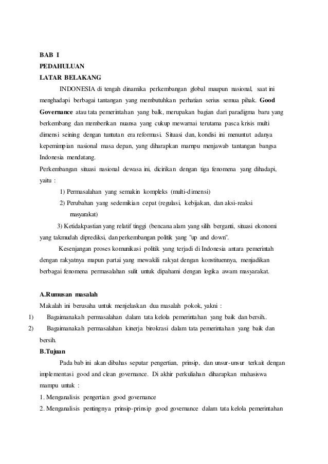 Makalah Disiplin Kerja Makalah Ketahanan Nasional Slideshare Jpeg 110kb Makalah Pemerintahan Yang Baik 259 X 194 Jpeg 15kb Makalah