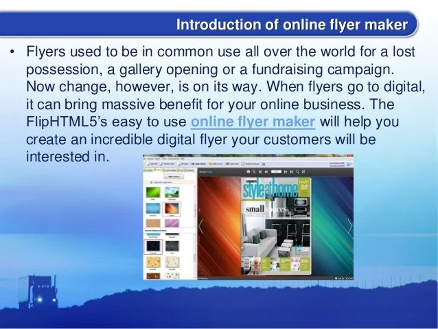 flip online flyers - Thinkpawsitive - how to make online flyers