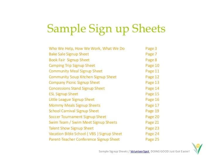 make a sign up sheet - Minimfagency - make a signup sheet