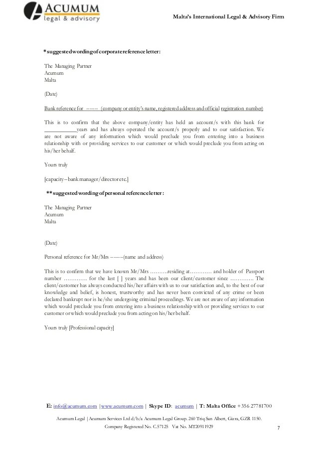 Sample Loan Request Letter To Help You Request Bank Loan Malta Ltd Company Formation A Walk Through 2014