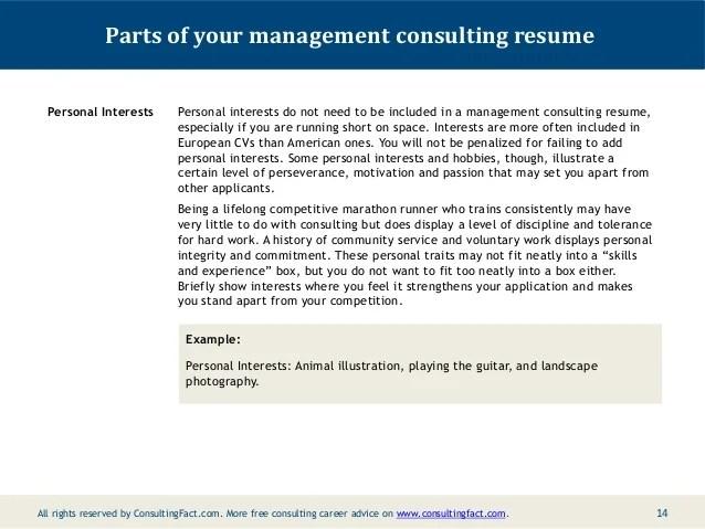 Personal Interest Hobbies Resume | Sample Customer Service Resume