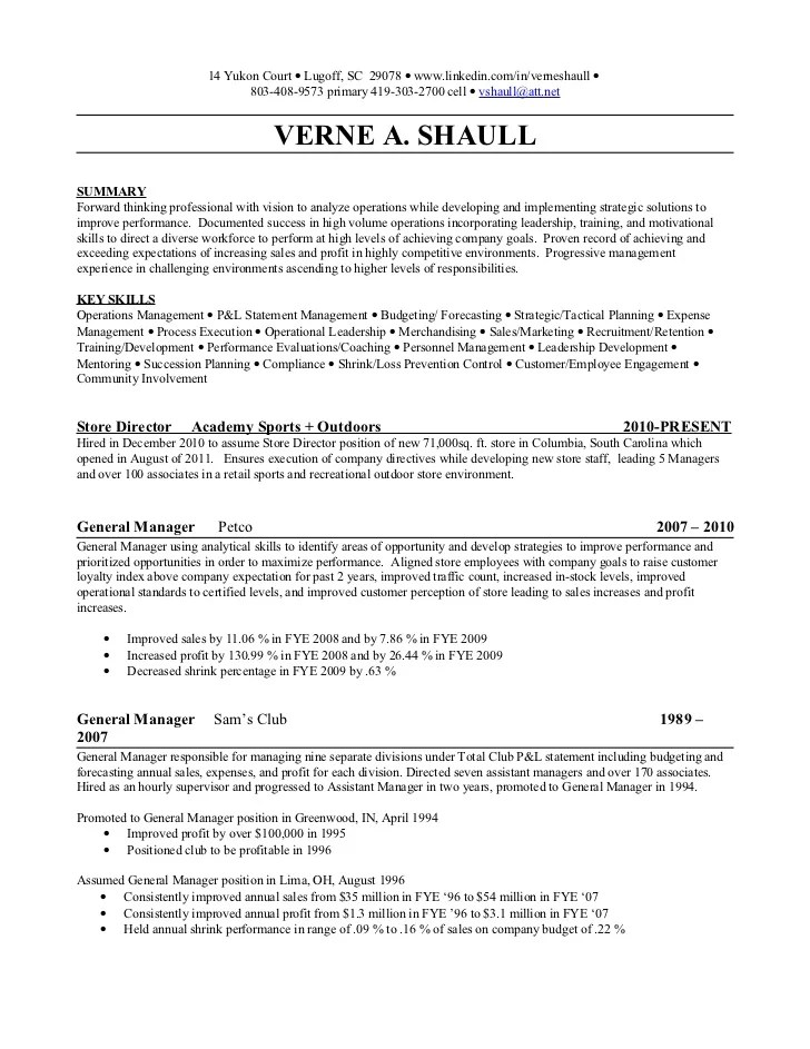 Sales Manager Resume Sample Account Manager Objective Statement Resume Free  Resume Templates  Assistant Manager Resume Sample
