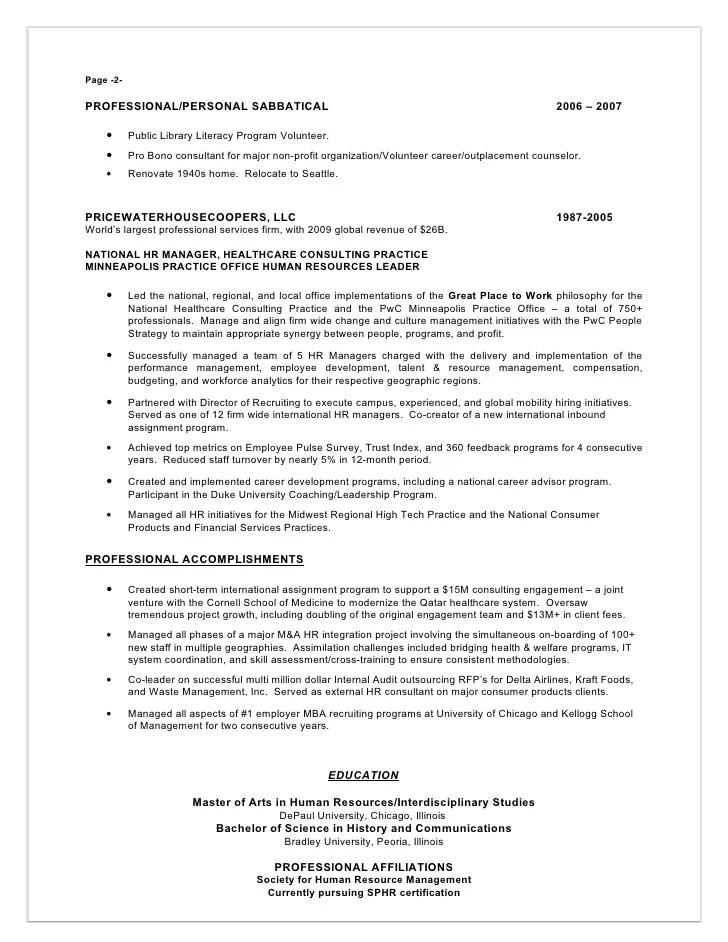 resume writing service seattle