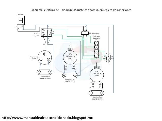 carrier manual diagrama electrico circuito