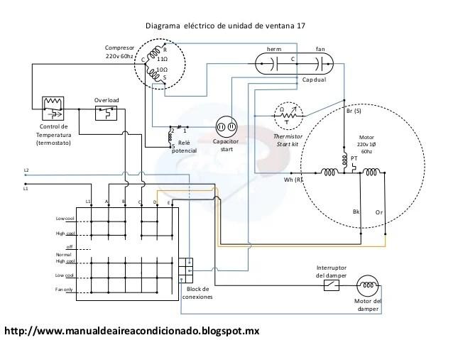 compressor Diagrama del motor
