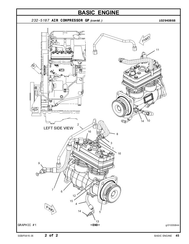 cat acert Motor diagram ac