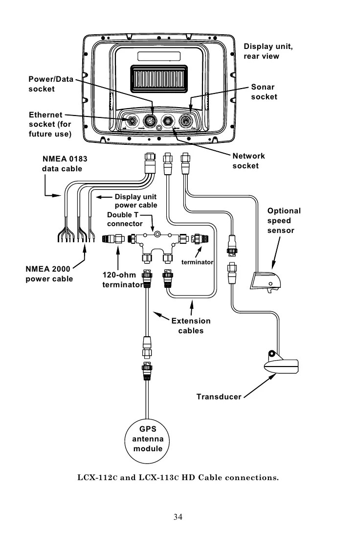 transducer wiring diagram depth