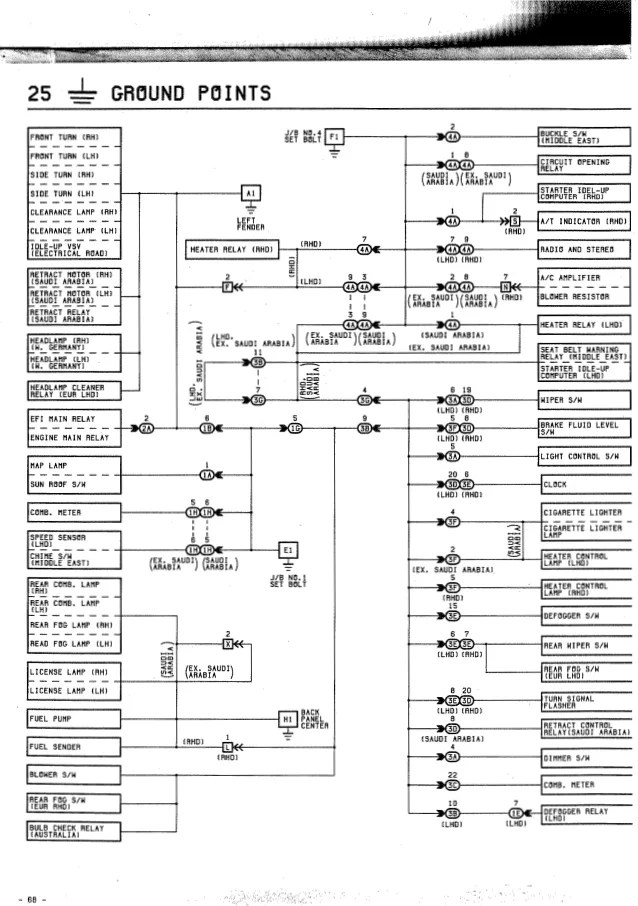 toyota yaris 1999 fuse box diagram