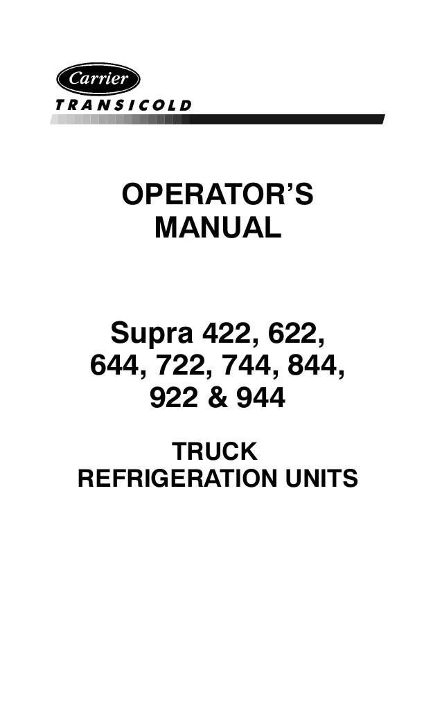 carrier reefer unit fuse box