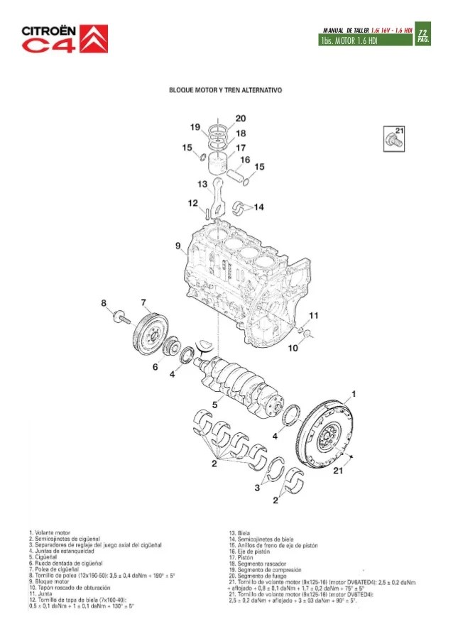 citroen c3 14 hdi 2003 wiring diagram