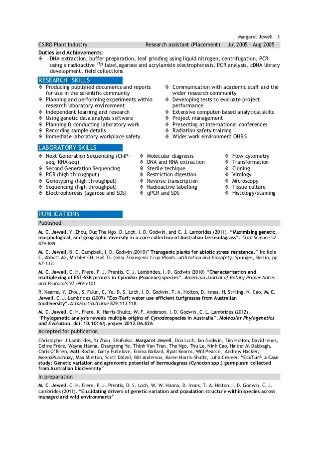 resume template cheeky scientist