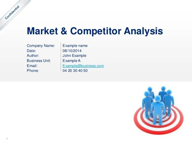 competitor analysis example - Goalgoodwinmetals - competitors analysis template
