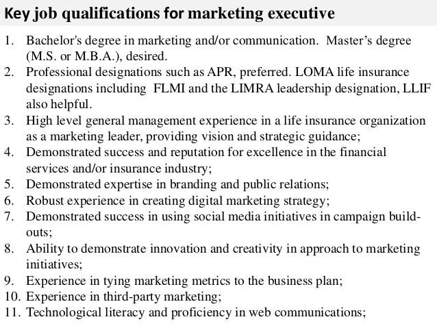 Resume CV Cover Letter. marketing executive apply now job ...