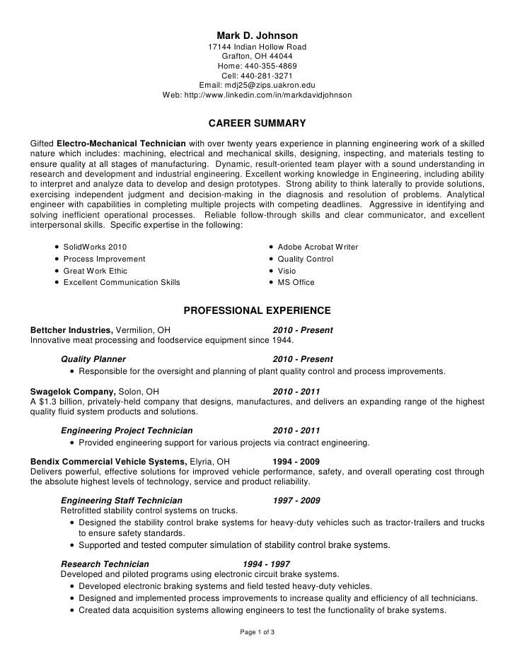 research technician resume - Ozilalmanoof