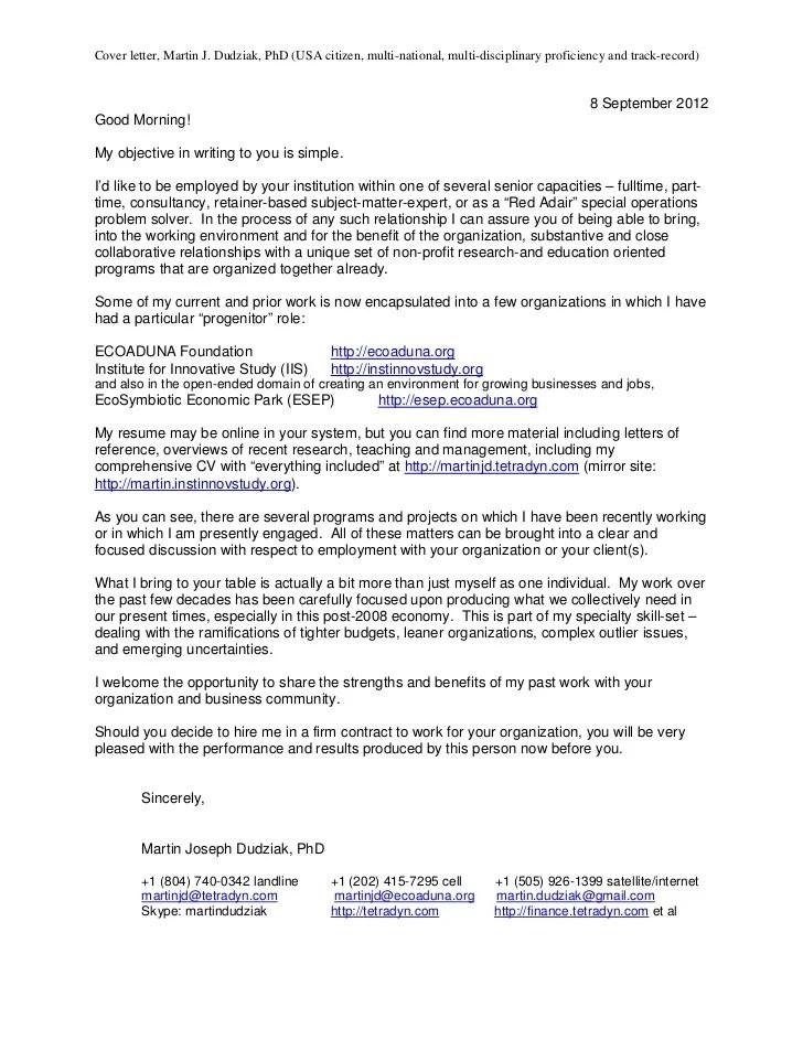 Finance Associate Cover Letter
