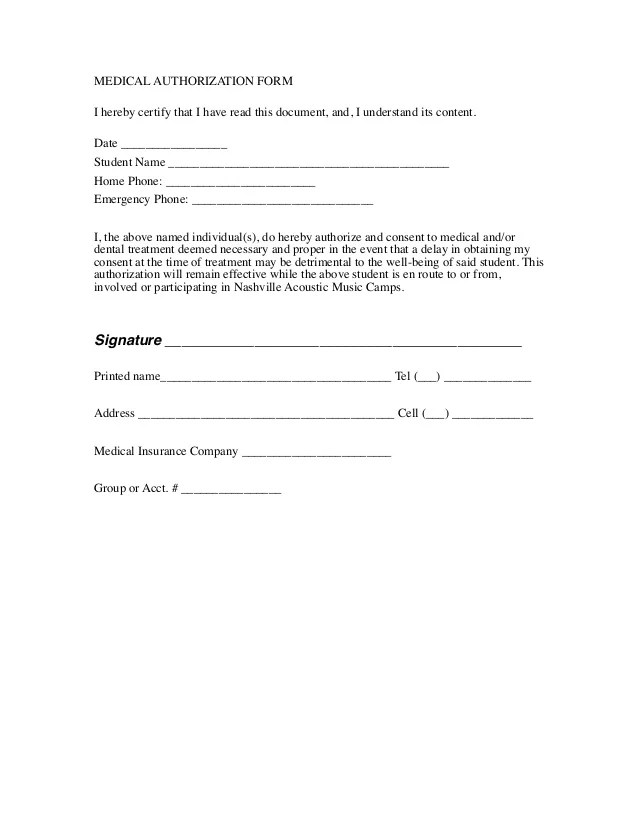 Release Form Personal Injury – Free Liability Release Form