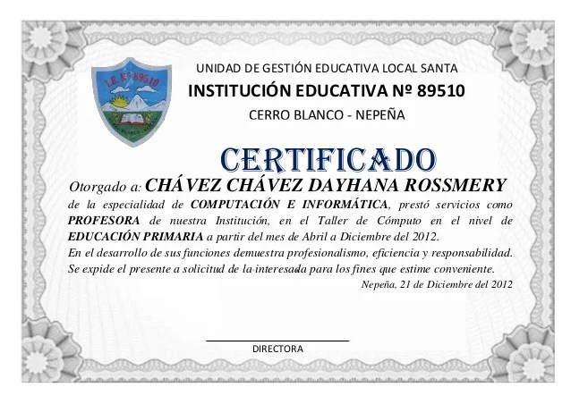 modelos de certificados - Apmayssconstruction